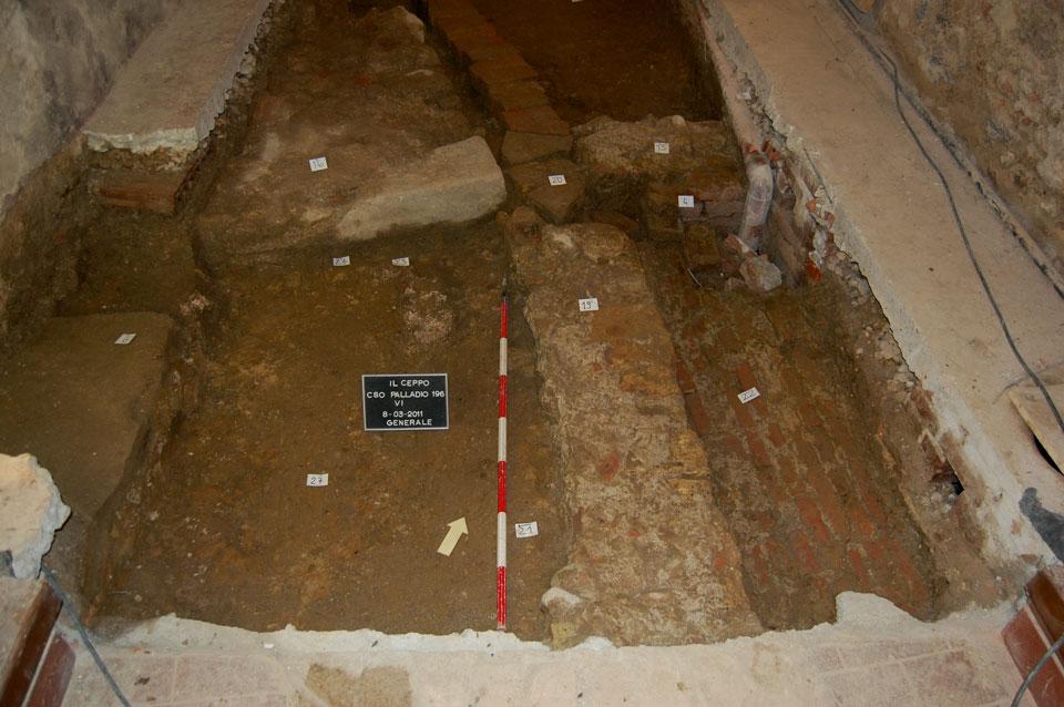 Veduta dell'area di scavo da sud (Archivio Soprintendenza per i Beni Archeologici del Veneto)