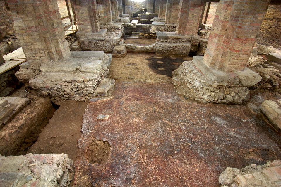 Veduta dell'area archeologica (Archivio Soprintendenza per i Beni Archeologici del Veneto)