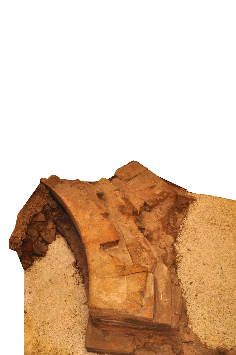 Particolare della nicchia del frigidarium (Archivio Museo Naturalistico Archeologico di Vicenza)