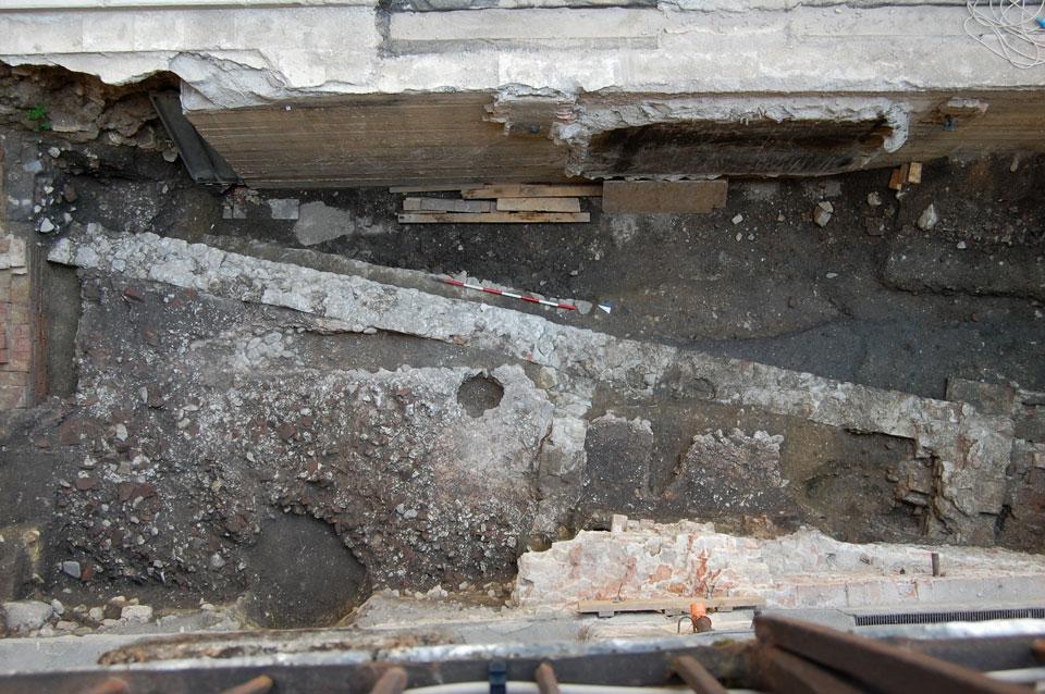 Veduta dell'area di scavo (Archivio Soprintendenza per i Beni Archeologici del Veneto)